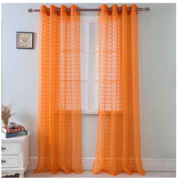 Glory Home Design Other - Karen Sheer Grommet-Top Single Curtain Panel_ORSHR